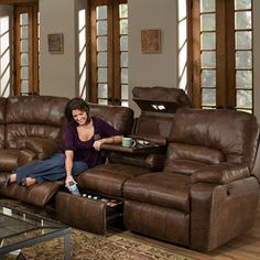 Dakota Collection 596 - Faux Leather - Franklin Furniture Product     Hmmmmmmm- nice