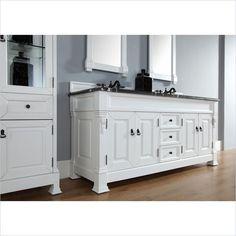 Pegasus cottage 72 inch double vanity combo bathroom ideas pinterest for Pegasus bathroom vanity combo