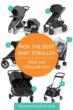 When it comes to baby gear, the picking the right stroller might be the most important decision a new mom makes. Take this free quiz to know which stroller is best for you before deciding which one to add to your baby registry. Baby Tips, Baby Hacks, New Parents, New Moms, Best Baby Strollers, Newborn Baby Care, Postpartum Care, First Time Moms, Baby Essentials