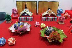 Hina Dolls ひなまつりのひな人形 origami hinadolls ひな祭り dollsfestival ひな飾り ひな人形 おりがみ 折り紙