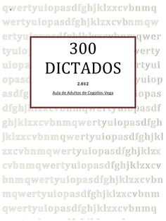 300 dictados  cogollos by Pedro Sánchez Jaén via slideshare