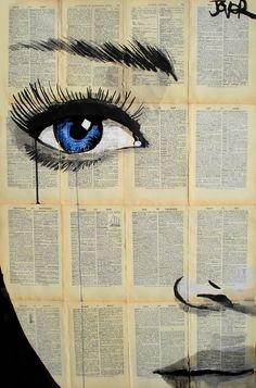"Saatchi Online Artist: Loui Jover; Pen and Ink, Drawing ""lunar"""