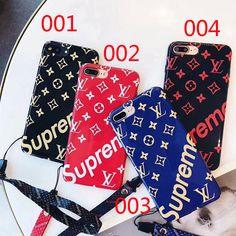 iphone X/8 plusケース Supreme × LV ヴィトンコラボ