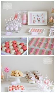 LOVE this for goodness cakes party idea for baby shower, or little girls birthday!