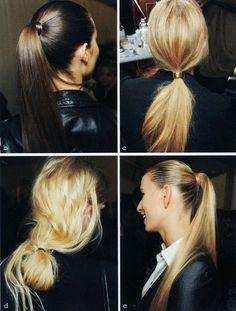 Summer ponytail inspo