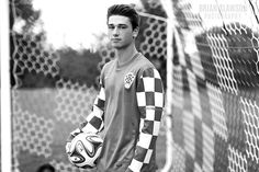 Photo by Brian Slawson Photography. Senior portraits. #seniorphoto #classof2016 #highschool #soccer #net #croatian #team