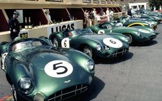 Le Mans 1959. Moss in car 7