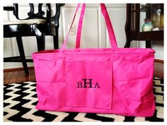 Personalized Extra Large Carry All $23.99 #pinkEpromise