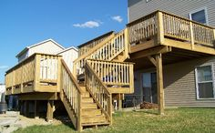 Outdoor+Deck+Plans+for+two+story+houses   Decking - New Construction, Cleaning, & Staining