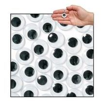 Jumbo Black Wiggly Eyes - Pack of 100