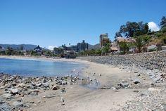 playa chica de Papudo