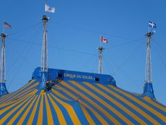 Cirque Du Soleil is back in town!  Enjoy the entertainment in the neighborhood this coming November.  Channel Mission Bay is located next to where all the action is so check it out today!