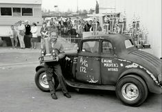 Scrappy looking '33 Willys coupe gasser