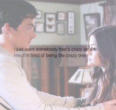 aria montgomery, ezra fitz, ezria, love, pretty little liars, relationship, sadness