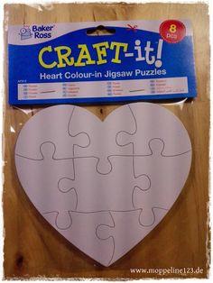 moppeline123: Produkttest - Herz-Puzzles von Baker Ross