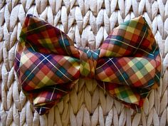Handmade bow tie!