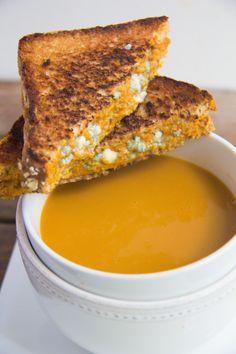 Pumpkin Sage & Gorgonzola Grilled Cheese | imma Eat that