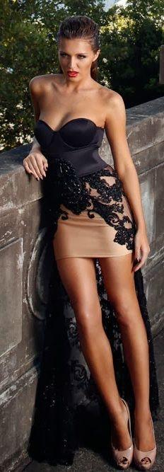 Fashion inspiration | Women loves fashion | sexy lady dressed to impress | #promdress http://pronoviasweddingdress.com/