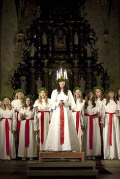 Swedish Santa Lucia | Luciadagen i Sverige » reser kanadensare