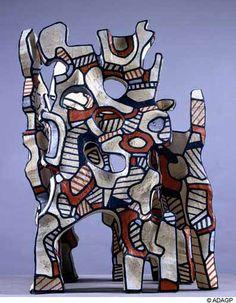 Jean Dubuffet – The Cosmorama IV , Art Brut, sculpture, Hourloupe series. Art Sculpture, Abstract Sculpture, Abstract Art, Sculpture Projects, Sculpture Ideas, Modern Art, Contemporary Art, Jean Dubuffet, Art Through The Ages