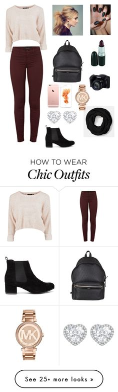 """""""chic"""" by evineyrodriguez on Polyvore featuring J Brand, Yves Saint Laurent, Coach, Michael Kors and Kiki mcdonough"""