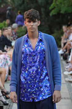Male Fashion Trends: Marcel Ostertag Spring-Summer 2019 - Berlin Fashion Week Marcel, Male Fashion, Fashion Trends, Berlin Fashion, Spring Summer, Shirt Dress, Mens Tops, Shirts, Dresses