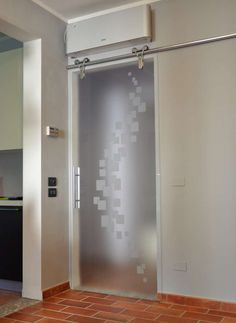 porte scorrevoli legno vetro binario esterno - Cerca con Google ...