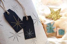 Rubber Stamp Set: Star & Starlet by karamelo on Etsy