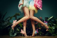 Sophia Webster Chiara, Sophia Webster Shoes, Wing Shoes, Fashion Art, Womens Fashion, Embellished Sandals, Beautiful Legs, Summer Collection, Fashion Photography