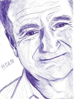 Robin Williams by damerest.deviantart.com on @deviantART