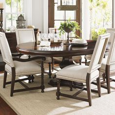 Found it at Wayfair - Kilimanjaro Extendable Dining Table Set