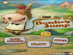 Donkey Jump  Android Game - playslack.com , Donkey Jump HD - a compelling passageway game in which you will direct a burro, having decided to leave the workplace and to go up, to the star. You will pass not an atomic difficult route, opening brand-new lines and accumulating  many bonuses. Go forward for ventures! You are waited for by pretty graphics and a shinny gameplay, some kinds of foes and bonuses, satisfactory song and many other things!
