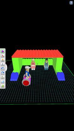 Gör en ritning med lego i din iPad, mönster, konstruera, öga/handkoordination. Använda sedan din ritning och bygg i lego!
