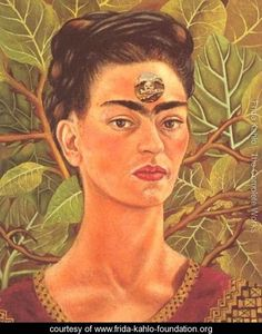 Thinking About Death - Frida Kahlo - www.frida-kahlo-foundation.org