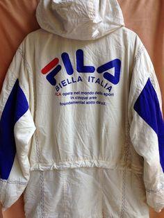 Rare Vintage FILA Biella Italia Puffer Hip Hop by BoomBoonVintAge Fila Vintage, Vintage Jumper, Mode Vintage, Vintage Tees, Hip Hop Outfits, Stage Outfits, 90s Fashion, Retro Fashion, Streetwear