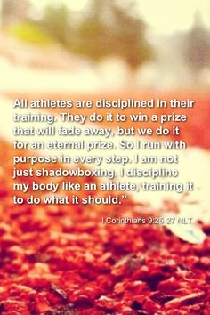 1 Corinthians 9:25 - 27