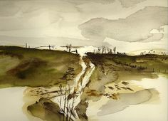watercolor study by Andrew Wyeth
