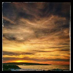 #atardecer en #Rosamunda #Monte #Santander #Cantabria #España #spain #sunset #sunset_madness #sunsetlovers #sun #sky #skylovers #nubes #nubesdealgodon #clouds #cloudstagram #surfspot #surfer #surf #bodyboard #bodyboarding #cielos #cloudporn #picoftheday #light_shots #skyporn