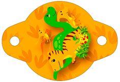 Enfeite Canudinho Dinossauro Cute