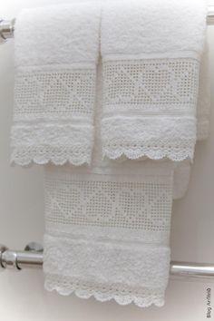 toalhas de lavabo | Anfitriã como receber em casa, receber, decoração, festas, decoração de sala, mesas decoradas, enxoval, nosso filhos