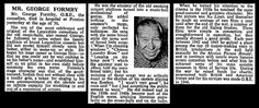 6th March 1961 - Death of George Formby