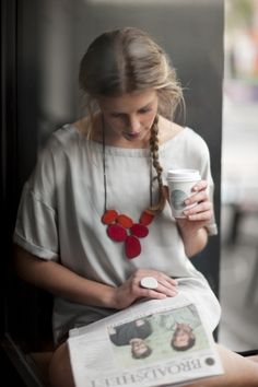 Colorful resin necklace, to design a classic shirt ! (Elk accessories) Pin It to Win It: https://docs.google.com/forms/d/1-p7ci16H2KQkNgoJ9Q8HDXW3UQkf-BML8qTUVCr5HOc/viewform