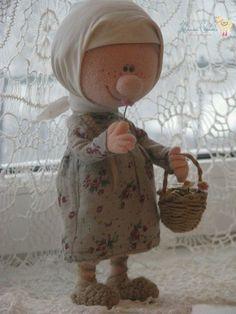 Коллекционные куклы ручной работы. Девочка-снегурочка. Наталья Савинова куклы из шерсти. Ярмарка Мастеров. Валяние из шерсти, крестьянка