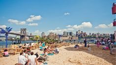 Sprung from humble Long Island City origins, Water Taxi Beach has expanded to increasingly valuable riverside real estate: first South Street Seaport, and now this 20,000-plus-square-foot Governors Island locale. Drinks are similar to those at the other locations, including draft beers and cocktails. The Beach Grill—one of three minirestaurants on the site—sells familiar fare like the Motz Burger; by the end of the month, the Backstage Cafe is expected to open, offering dishes made from…
