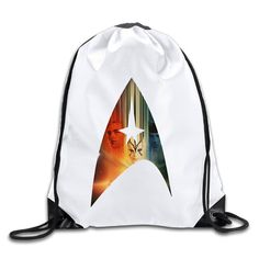 Star Trek Beyond Poster 100% Polyester Fiber Drawstring Gymsack One Size -- Awesome products selected by Anna Churchill