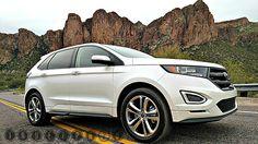 2015 Ford Edge Sport White