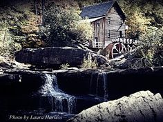The Old Grist Mill at Babcock State Park