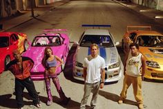 Fast and Furious-- from the great American cars of the Dodge and Mustang to the Honda S2000 and Civic, the films 1 to 6 had them all- now my kids can reel off all the cars..