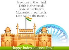 Happy Independence Day of India Special Quotes-Happy Independence Day Wishes Independence Day India Images, Happy Independence Day Wishes, Independence Day Wallpaper, Independence Day Special, Republic Day Photos, Republic Day India, Happy Friendship Day Messages, Festival Quotes, Teachers Day Card