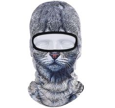 New 2016 3D Animal Ski Balaclava Stay warm and cozy in these New 2016 3D Animal Ski Balaclava animal-themed, balaclava from AllNatureAttire. Comfortable, one-hole mask covers your head, face and neck, leaving space only for the eyes. | Fashion